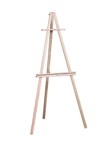 American Easel Deluxe Tripod-Natural Fir