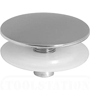 Sink Blank : Kitchen Sink Tap Hole Chrome Cover / Blanking Plate / Stopper -Brand ...