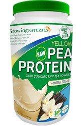 Growing Naturals Pea Protein Powder, Vanilla, 950 Gram