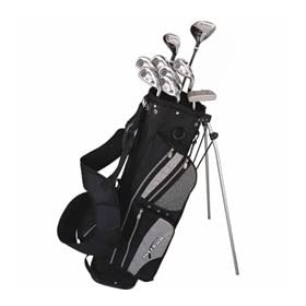 Inferno Complete Men's Golf Club Set with Stand Bag