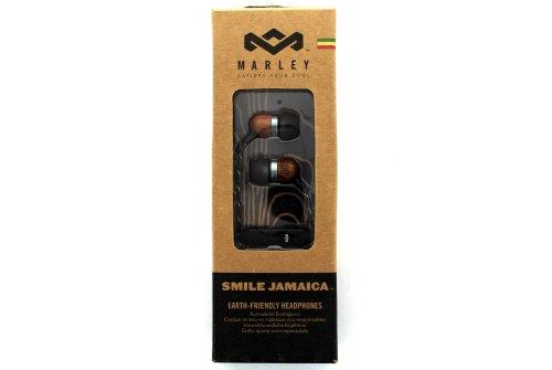 House Of Marley Em-Je040-Mi Smile Jamaica Midnight In-Ear Headphones