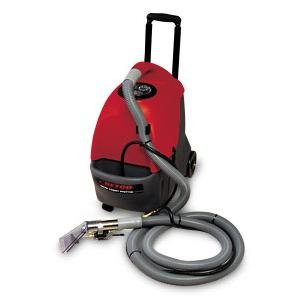 Betco E85509-00 FiberPro 3.5 Gallon Spotter Carpet Extractor, Includes (1) 15' Safety Yellow Power Cord, Upholstery Tool, 10' Vacuum and Solution Hoses