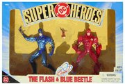 DC Super Heroes The Flash and Blue Beetle with the Atom