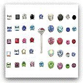 20 Pack 925 Sterling Silver Nose Studs Rings