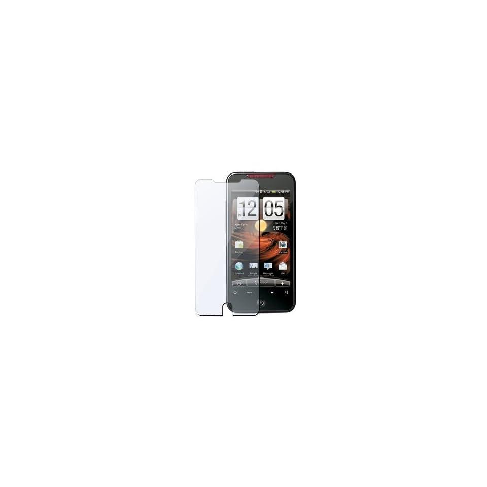 CCM® WrapShield Anti Glare Screen Protector Shield For HTC EVO 3D (4 Pack)   Premium Japanese Screen Protectors