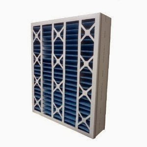 "US Home Filter SC40-16X25X5 MERV 8 Air Bear Replacement Filter (Pack of 2), 16"" x 25"" x 5"""