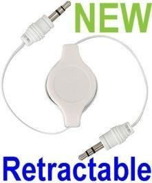 3.5mm Male to Male Retractable Cable