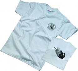 Mack's Prairie Wings Feather Logo Short Sleeve T Shirt