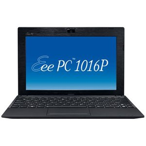 ASUS Eee PC Seashell 1016P-BU17-BK 10.1-Inch Netbook (Black)