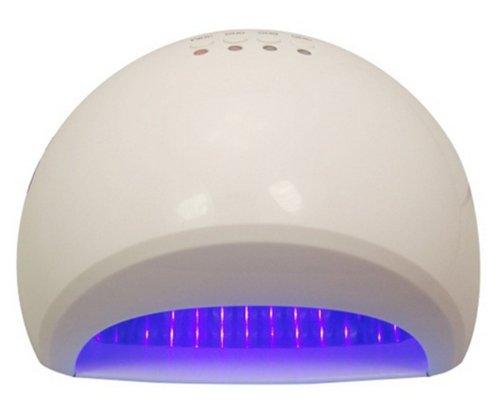 Tky Stylish Mini Portable 12W Led Gel Lamp Light Uv Nail Polish Lamp With Digital Countdown Timer Gld-R