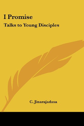 I Promise: Talks to Young Disciples