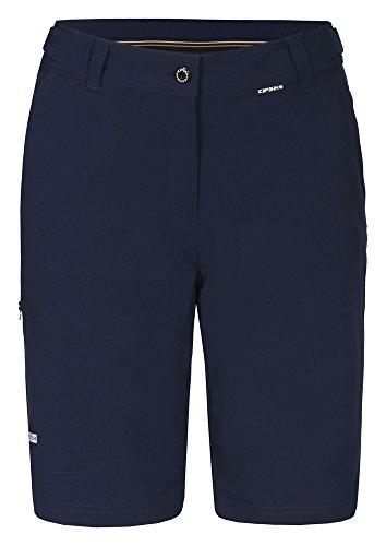 Icepeak-Pantaloncini da donna Bermudas Mae, Donna, Shorts Bermudas Mae, Blu - Navy Blue, 42