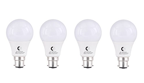 9-Watt LED Bulb (Pack of 4, Cool Day Light)