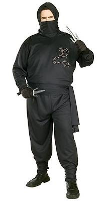 Ninja Men's Costume Adult Halloween Outfit ?