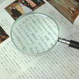 エボ柄ルーペ90mm拡大鏡 [手持ちルーペ 虫眼鏡 虫めがね 天眼鏡]