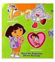 Nickelodeon Dora The Explorer Cutout Decor Accents Stickers
