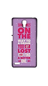 Some Times On The Way Mobile Case/Cover For XIAOMI RED MI- NOTE (4G)