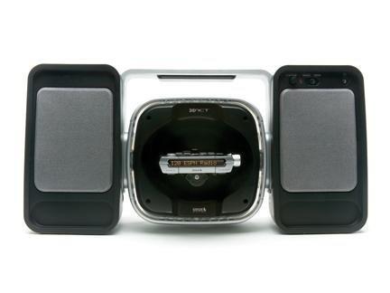 Xact Xs097 Deluxe Universal Satellite Radio Cd Mp3 Amfm Boombox System