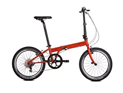 Dahon Speed P8 Folding Bike (20-Inch Wheel, Fire) by Dahon