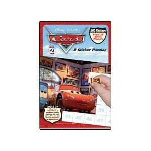 Disney Pixar Cars Sticker Puzzles - Set 2
