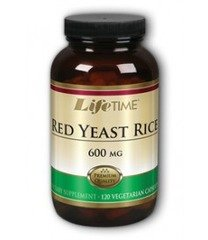 Red Yeast Rice 600 Mg Lifetime 120 Vcaps