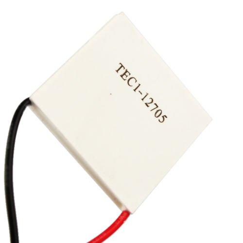 Xidaje Heatsink Thermoelectric Cooler Peltier Plate Module 5A 15.4V
