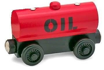 Red Oil Tanker - Thomas & Friends Wooden Railway Tank Train Engine - Brand New Loose (Diesel Fuel Tanker compare prices)