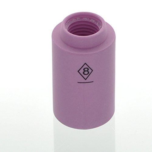 "Ck 2A8 Cup Alumina (1/2"" X 1-5/32""). Xref: 13N12"