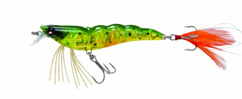 "Today Yo-Zuri Crystal 3D Shrimp Lures Size/Color: 3 1/2"" (F988); Spotted Shrimp (HSP)  Review"