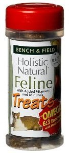 Bench Field Holistic Natural Feline Cat Treats Oz