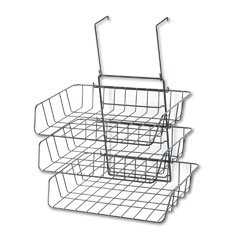 Wire Partition Additions Cubicle Wall Triple Letter Tray, Black FEL75310 - Buy Wire Partition Additions Cubicle Wall Triple Letter Tray, Black FEL75310 - Purchase Wire Partition Additions Cubicle Wall Triple Letter Tray, Black FEL75310 (Fellowes, Office Products, Categories, Office Supplies, Desk Accessories, Desktop & Drawer Organizers)