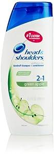 Head & Shoulders Green Apple 2-in-1 Dandruff Shampoo + Conditioner 23.7 Fl Oz