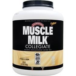 CytoSport Collegiate Muscle Milk - Cookies & Cream - 5.29 Lbs (2400 G) by Cytosport
