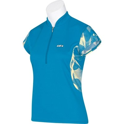 Buy Low Price Louis Garneau 2008 Women's City Girl Short Sleeve Cycling Jersey – Atlantis – 8820370-88J (B0012681VG)