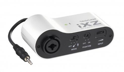 ティアック iPad/iPhone/iPod touch用マイク/ギターインターフェース iXZ