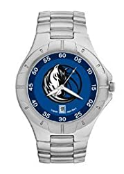 Dallas Mavericks Mens Pro Ii Sterling Silver Bracelet Watch