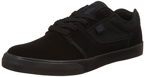 DC Men's Black Tonik Skate Shoe, Black/Black, 11 M US