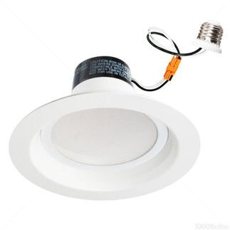 13Watt 6-Inch Energy Star Ul-Listed Dimmable Led Downlight Retrofit Recessed Lighting Fixture - 4000K Cool White Led Ceiling Light --900Lm