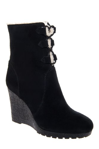 Rory Boot High Wedge Lug Sole Bootie