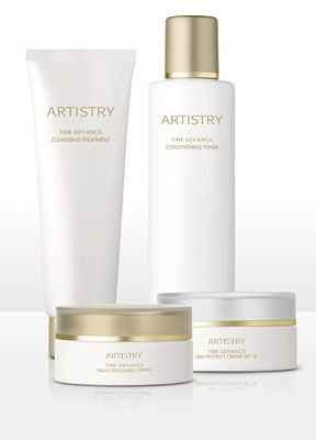 ARTISTRY TIME DEFIANCE Skin Care System Normal to Dry