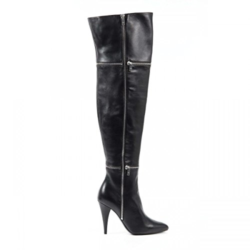 Yves Saint Laurent Yves Saint Laurent Womens High Boot 404420 B3400 1000 NERO
