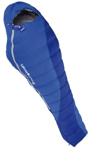 Lafuma Lightway 45-Degree Down Right Zip Sleeping Bag, Olympic Blue