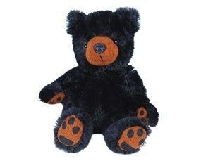 "Purr-Fection Tender Friend Black Bear 12"" Plush"