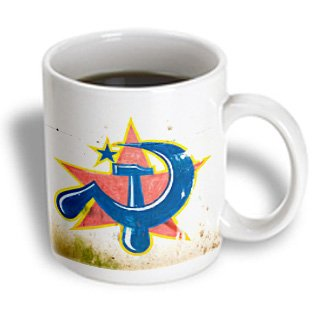 Danita Delimont - Communism - Symbol Of Communist Party, Kochi, Kerala, India-As10 Ksu0315 - Keren Su - 15Oz Mug (Mug_71315_2)