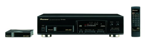 Pioneer PD-M426 - 6 Disk CD player - Black