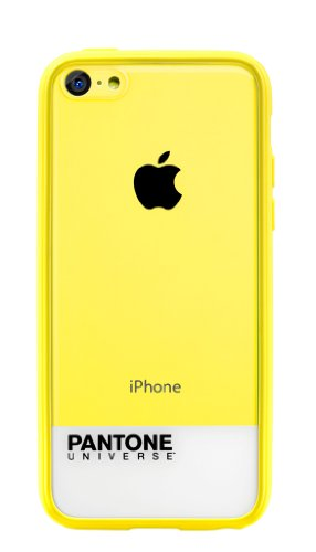 Case Scenario Custodia Pantone Universe iPhone 5C, Giallo