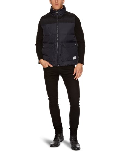 Jack and Jones Kento Body Warmer Men's Gilet Navy Blue Medium