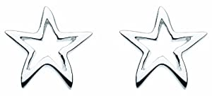 Dew SP48810HP006 - Pendientes de mujer bañados en plataplata