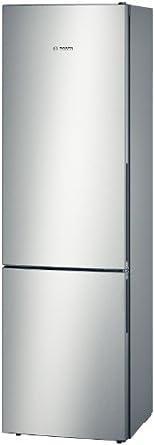 Bosch KGV39VL31S réfrigérateur-congélateur - réfrigérateurs-congélateurs (Autonome, Argent, Bas-placé, A++, SN, T, LED)