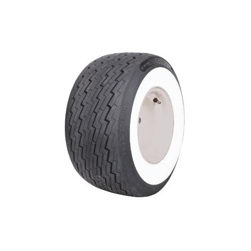 18 Inch Tires >> Amazon.com: Coker Classic 50188 Golf Cart 2 1/2 Inch Whitewall 18x8.50-8 Tire